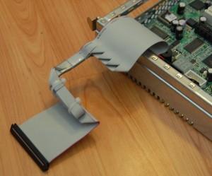 Кабель для SMDC после обработки
