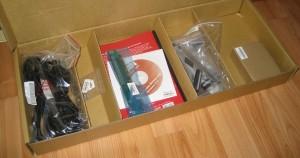 Коробка с аксессуарами