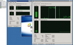 Загрузка CPU на сервере приложений и сервере лицензий
