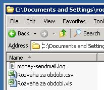 Вот теперь файлы там где нужно.